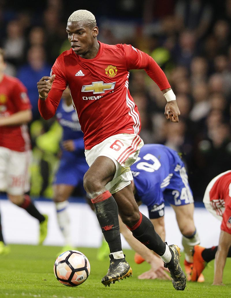 English FA Cup, Paul Pogba